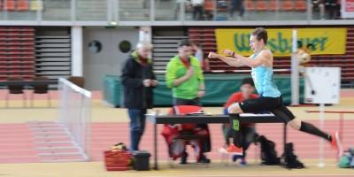 Philipp Kronsteiner springt 15,14m im Dreisprung