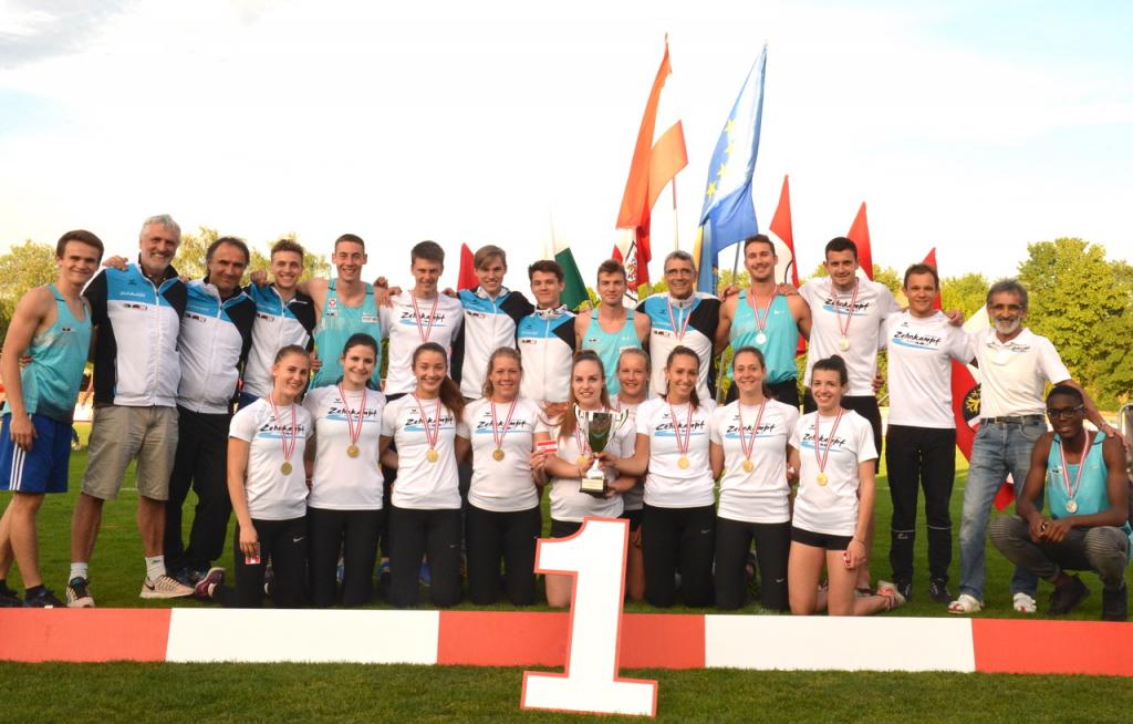 TGW Zehnkampf Union Team 2018-1